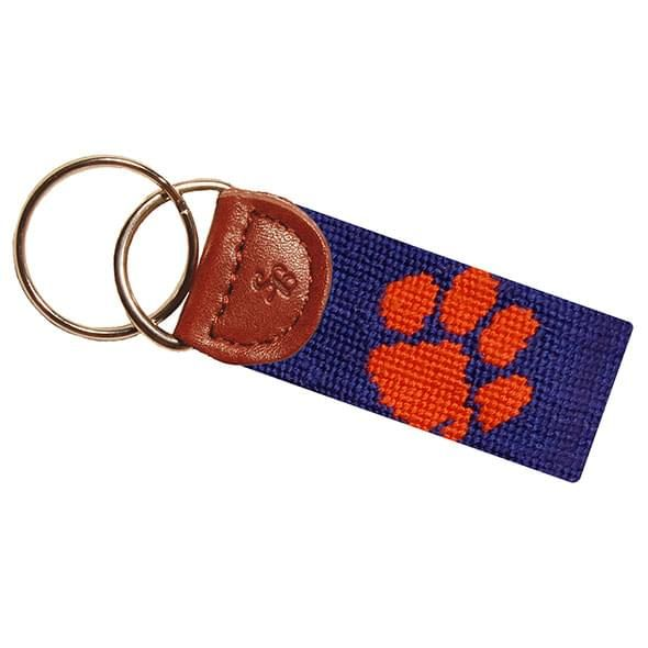 Clemson Cotton Key Fob