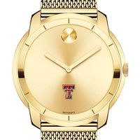 Texas Tech Men's Movado Gold Bold 44
