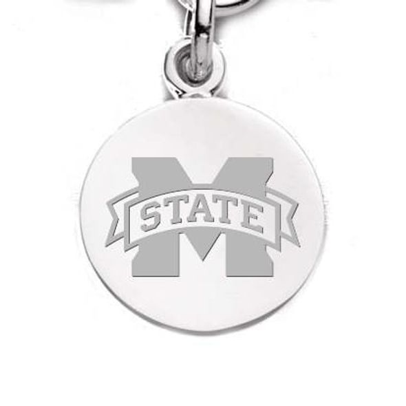 Mississippi State Sterling Silver Charm