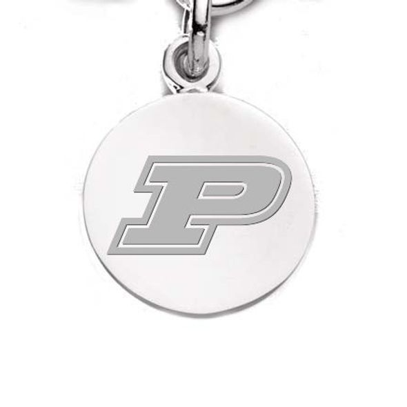 Purdue University Sterling Silver Charm