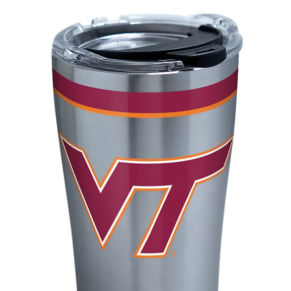 Virginia Tech 20 oz. Stainless Steel Tervis Tumblers with Hammer Lids - Set of 2 - Image 2