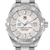 University of North Carolina Men's TAG Heuer Steel Aquaracer- Championship Edition