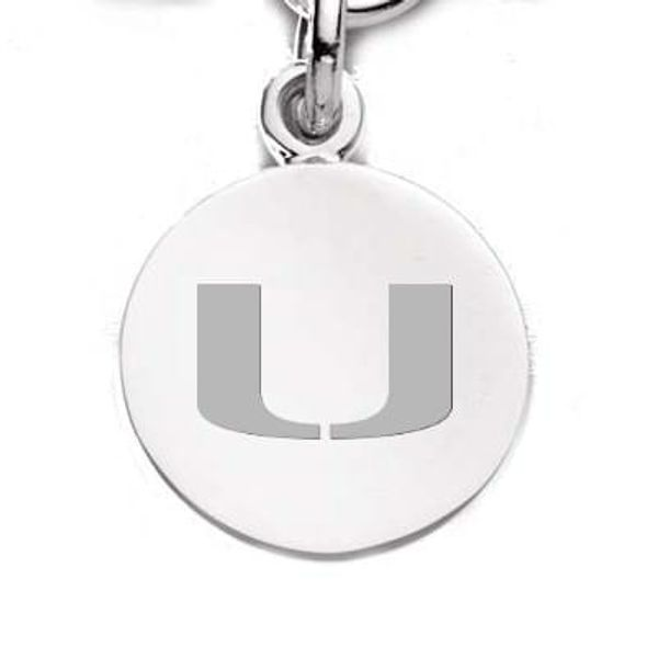 Miami Sterling Silver Charm - Image 1