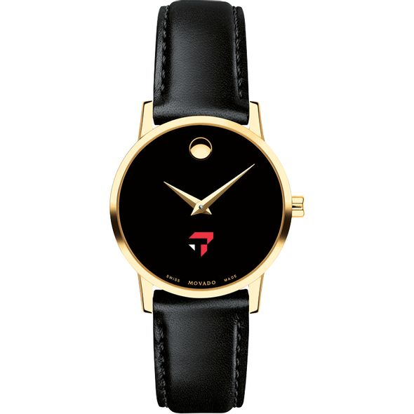 Tepper Women's Movado Gold Museum Classic Leather - Image 2