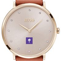 New York University Women's BOSS Champagne with Leather from M.LaHart