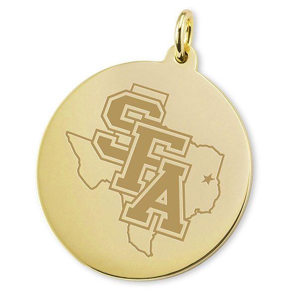 SFASU 14K Gold Charm - Image 2