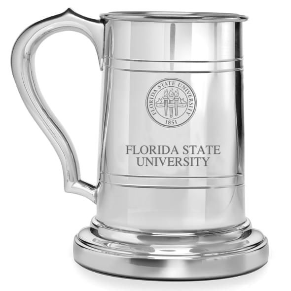 Florida State Pewter Stein - Image 1