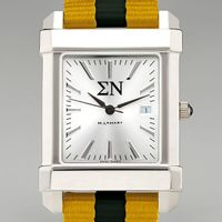 Sigma Nu Men's Collegiate Watch w/ NATO Strap
