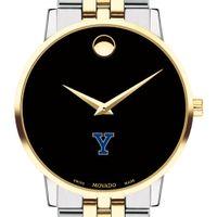Yale Men's Movado Two-Tone Museum Classic Bracelet