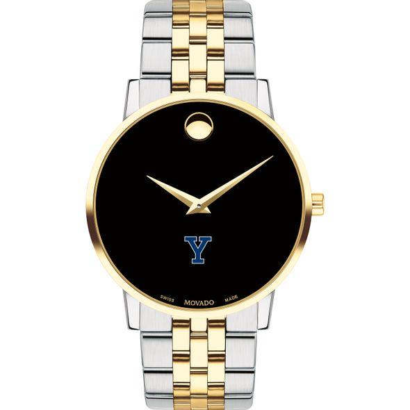 Yale Men's Movado Two-Tone Museum Classic Bracelet - Image 2