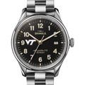Virginia Tech Shinola Watch, The Vinton 38mm Black Dial - Image 1