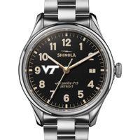 Virginia Tech Shinola Watch, The Vinton 38mm Black Dial