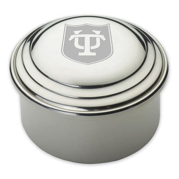 Tulane Pewter Keepsake Box