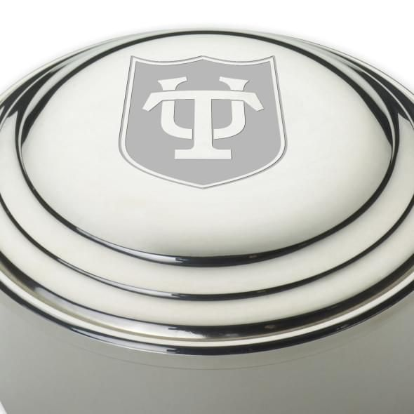 Tulane Pewter Keepsake Box - Image 2