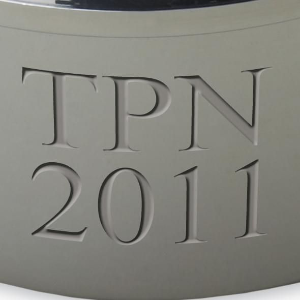 Tulane Pewter Keepsake Box - Image 3