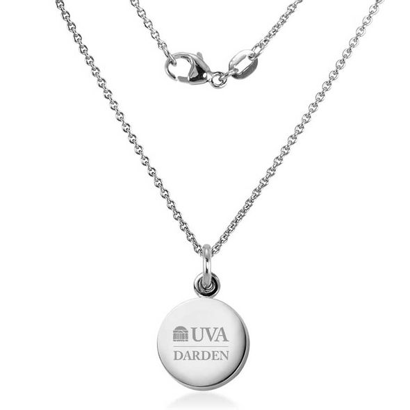 UVA Darden Necklace with Charm in Sterling Silver - Image 2