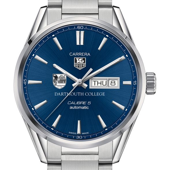 Dartmouth College Men's TAG Heuer Carrera with Day-Date