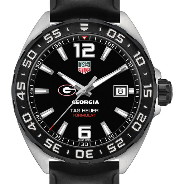 University of Georgia Men's TAG Heuer Formula 1 with Black Dial