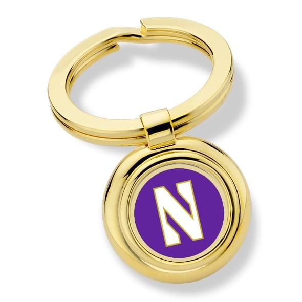 Northwestern University Key Ring - Image 1