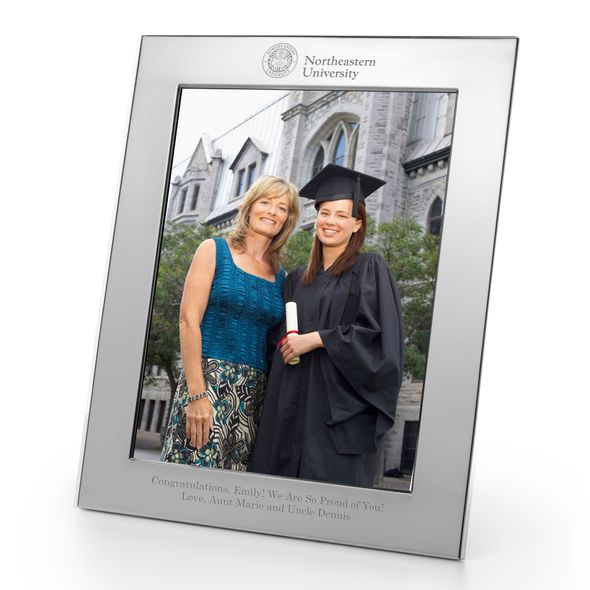 Northeastern Polished Pewter 8x10 Picture Frame - Image 1