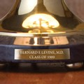 University of Miami Lamp in Brass & Marble - Image 3