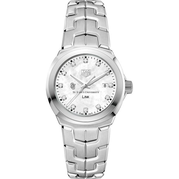 St. John's University TAG Heuer Diamond Dial LINK for Women - Image 2