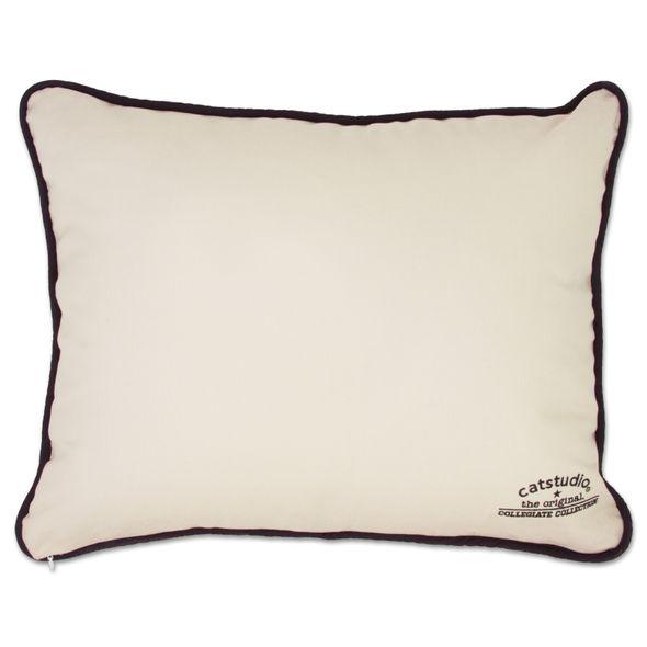 NYU Embroidered Pillow - Image 2