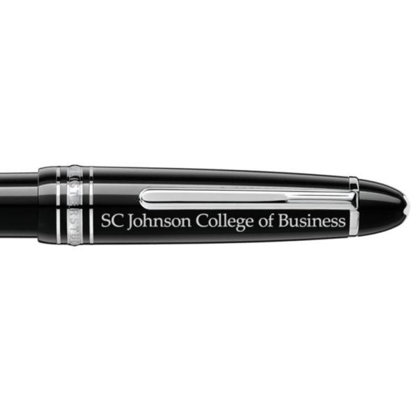 SC Johnson College Montblanc Meisterstück LeGrand Ballpoint Pen in Platinum - Image 2