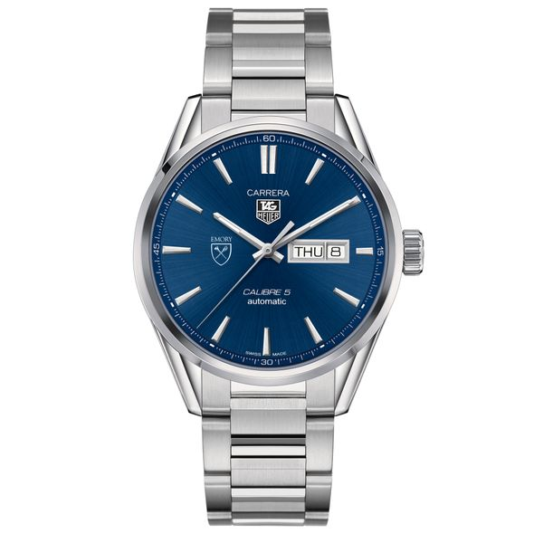 Emory University Men's TAG Heuer Carrera with Day-Date - Image 2