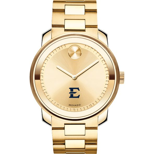 East Tennessee State University Men's Movado Gold Bold - Image 2
