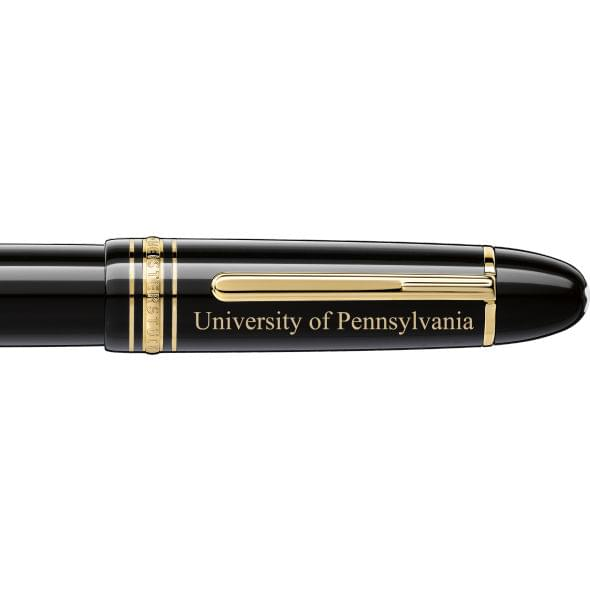 Penn Montblanc Meisterstück 149 Fountain Pen in Gold - Image 2