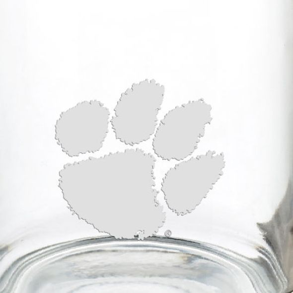 Clemson 13 oz Glass Coffee Mug - Image 3