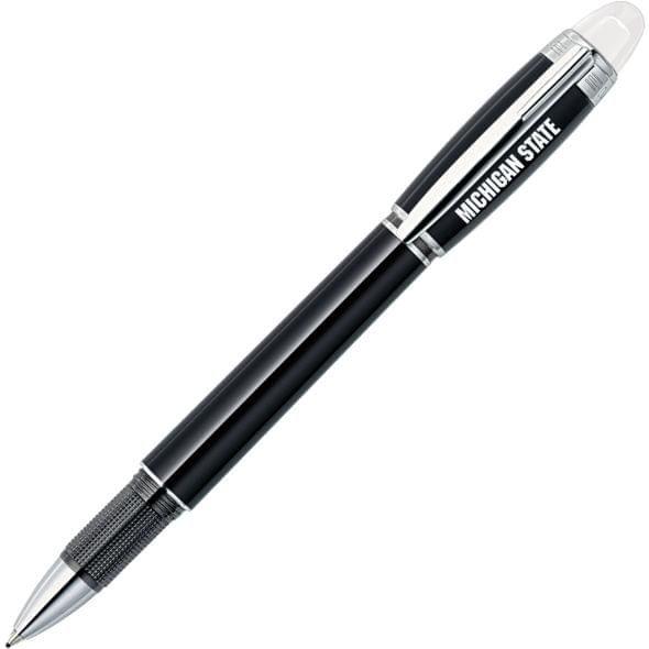 Michigan State University Montblanc StarWalker Fineliner Pen in Platinum