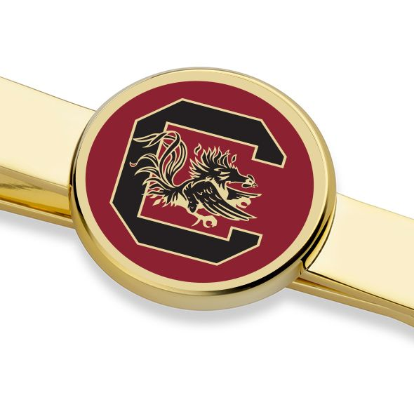 University of South Carolina Enamel Tie Clip - Image 2