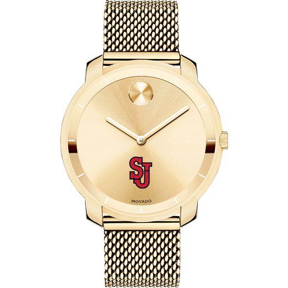 St. John's University Women's Movado Gold Bold 36 - Image 2