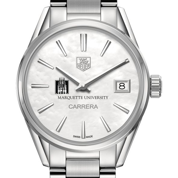 Marquette Women's TAG Heuer Steel Carrera with MOP Dial - Image 1