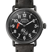 Florida Shinola Watch, The Runwell 41mm Black Dial
