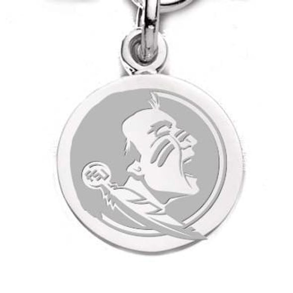 Florida State Sterling Silver Charm - Image 1
