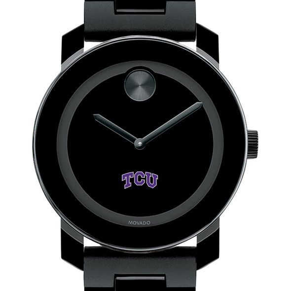 Texas Christian University Men's Movado BOLD with Bracelet - Image 1