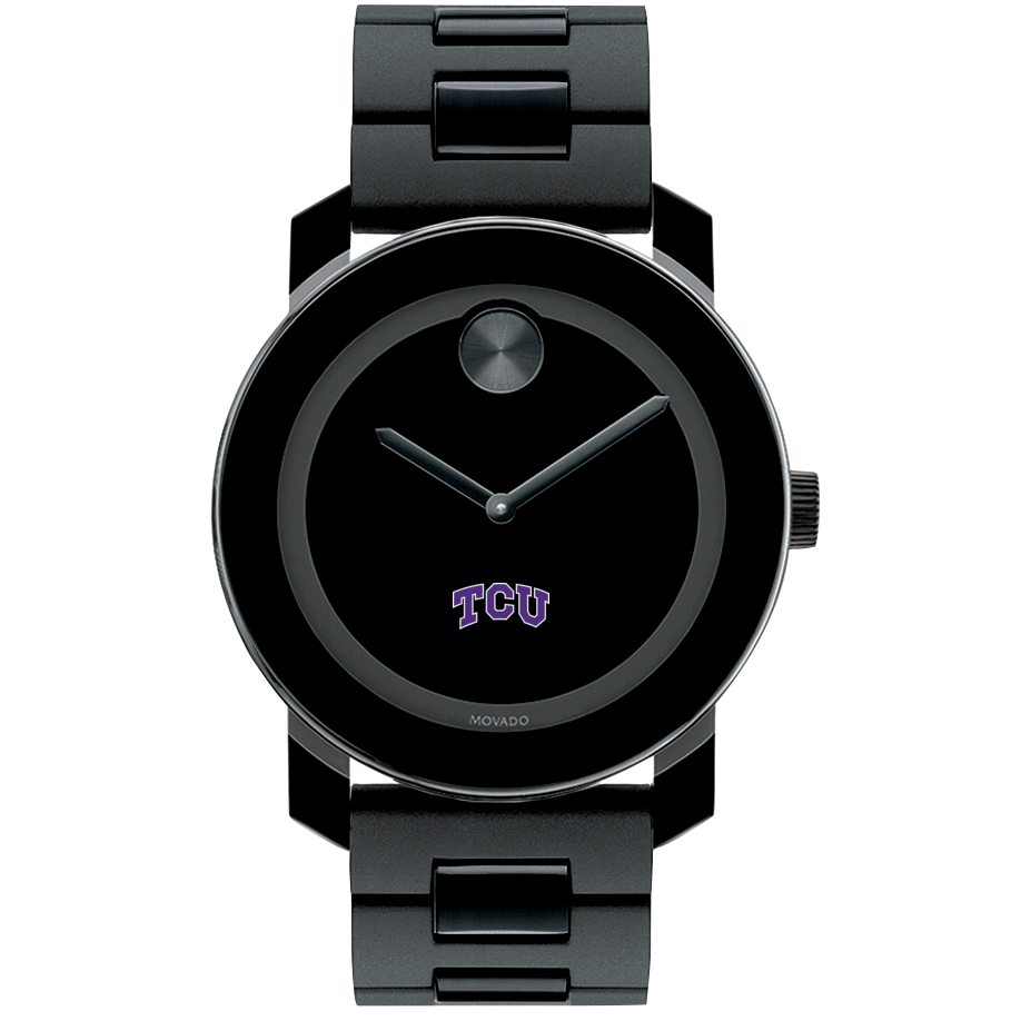 Texas Christian University Men's Movado BOLD with Bracelet - Image 2