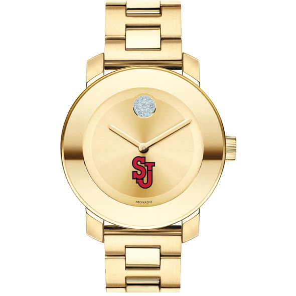 St. John's University Women's Movado Gold Bold - Image 2