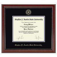 SFASU Diploma Frame, the Fidelitas