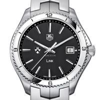 Princeton TAG Heuer Men's Link Watch with Black Dial