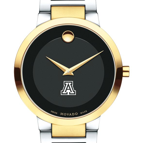 University of Arizona Men's Movado Two-Tone Modern Classic Museum with Bracelet