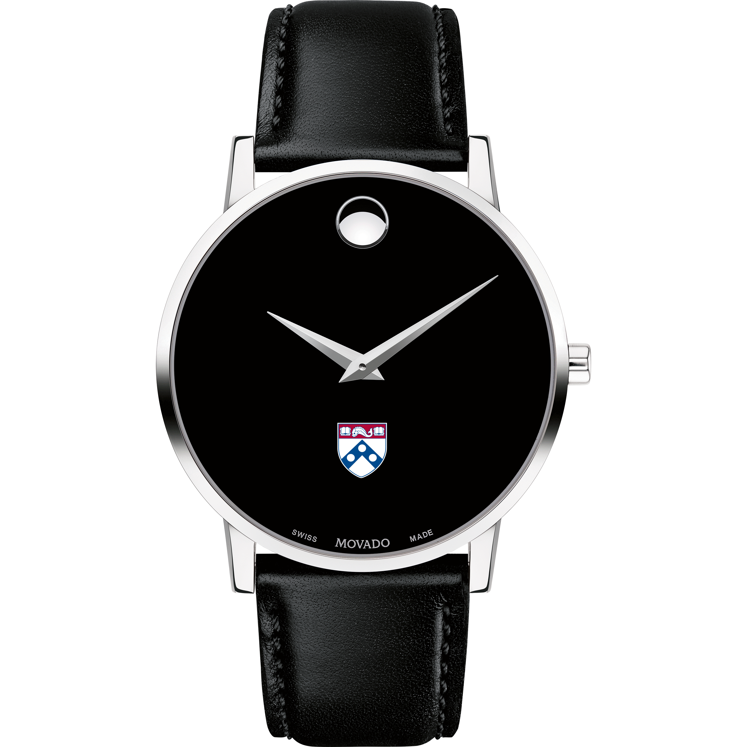 Penn Men's Movado Museum with Leather Strap - Image 2