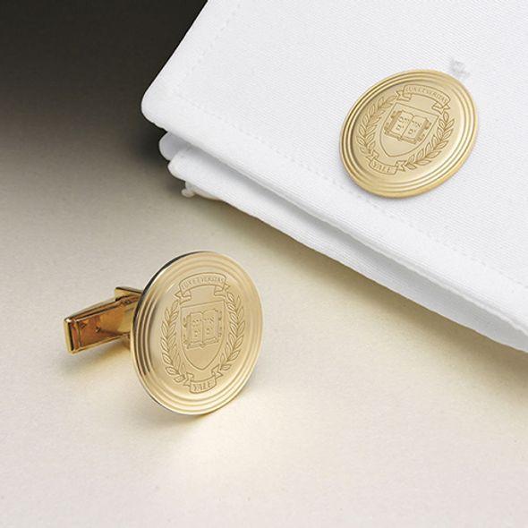 Yale 18K Gold Cufflinks - Image 1