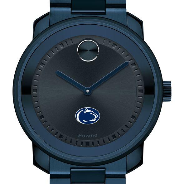 Penn State University Men's Movado BOLD Blue Ion with Bracelet
