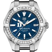 Duke Women's TAG Heuer 35mm Steel Aquaracer with Blue Dial