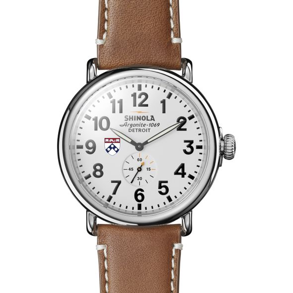 Penn Shinola Watch, The Runwell 47mm White Dial - Image 2
