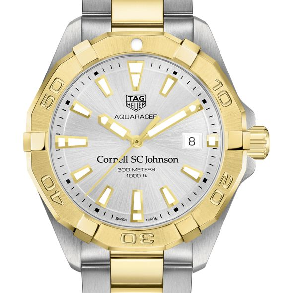 SC Johnson College Men's TAG Heuer Two-Tone Aquaracer